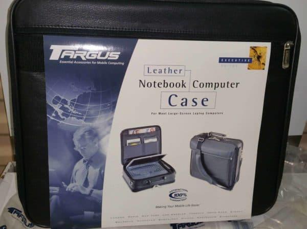 EMC2 back of laptop case